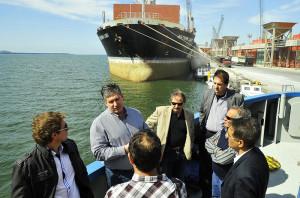 Comissão da Câmara dos Deputados visita o Porto de Paranaguá