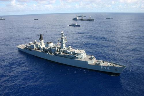 navio da marinha aberto à visitação