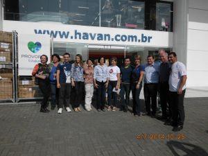 Havan Paranaguá entrega doações para o Provopar
