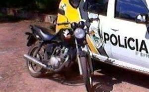 Policia recupera Moto furtada em Paranaguá, Paraná