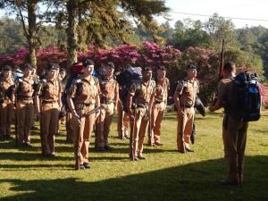 Novos policiais nas ruas de Paranaguá