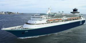 Paranaguá recebe navio com quase três mil pessoas a bordo
