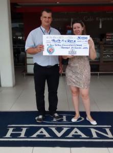 Associação de Pais e Mestres da Escola Eva Cavani recebe R$ 30 mil da Havan