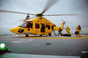 Maior helicóptero executivo do mundo desembarca em Paranaguá