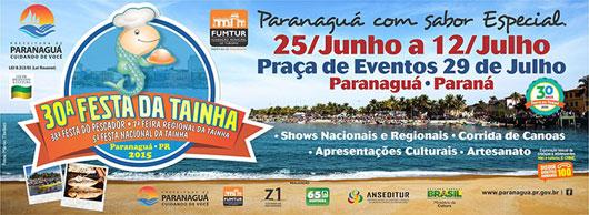 30ª festa tainha de Paranaguá