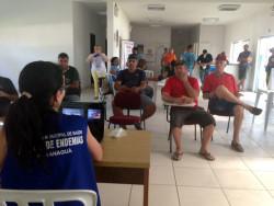 Com palestra de combate à dengue, Porto em Ação reúne 500 caminhoneiros