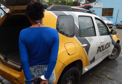 PM de Paranaguá apreende 915g de Cocaina