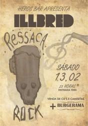 """Banda Illbred comanda a """"Ressaca Rock de Carnaval"""""""