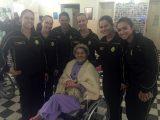 PM de Paranaguá leva carinho e atenção a moradores de lar de idosos